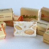 Nougat blanc tendre enrobé de chocolat au lait-orange Chabert & Guillot